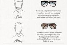 Eyewear for Men: Tips & Advice / Tips, strategies, and insights on glasses, sunglasses, and other eyewear for men.