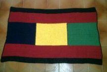 Tapetes / Tapetes confeccionados em crochet