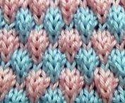 Návody - Knitting and crochet / pletení a háčkování - návody, videa