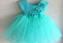 šatičky pro holčičky / pletené a háčkované šatičky a tuniky