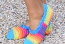 ponožky, podkolenky, návleky, bačkory, / pletené a háčkované ponožky, podkolenky, bačkory, balerínky, návleky,