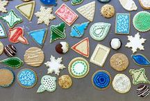 Cookies and round sweets