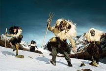 oDI - monsters (werknaam) / onderzoek naar folkloristische mythen en sagen