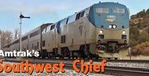 Southwest Chief Train Across America / I'm planning on travelling from Chicago to Los Angeles on the Southwest Chief Amtrak Train across the US, and this is my inspiration board to get me excited about this trip.