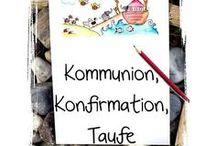 Kommunion ★  Konfirmation ★  Taufe / Basteln Dekorieren und Schenken zur Kommunion, Konfirmation, Taufe und anderen christlichen Festen ★ www.kreativzauber.de
