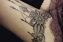 Tattoos: Henna & Lace