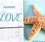 Maritim & Sommer ★ Basteln ★ Deko / Basteln und Dekorieren im Sommer - Nautic - Meer - Leuchttürme