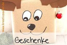 Geschenkverpackung / Geschenke kreativ verpacken - kreative Geschenkverpackungen - Geburtstagsgeschenke - kleine Geschenke - Wichtelgeschenke ★ www.kreativzauber.de