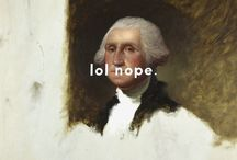 Shawn Huckins / Funny fine art, text over classic paintings