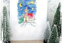 Basteln im Winter / wenn die Abende wieder dunkler werden macht es Spaß winterliche Deko wie Schneemänner und co zu basteln. Tolle Fensterbilder, stimmungsvolle Kerzen oder Dekoration aus Holz gefällt auch Kindern. Hier gibt es viele Ideen und Vorlagen dazu