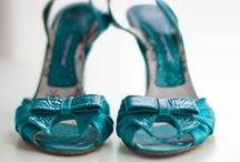 Zapatos de colores para tu boda - Wedding colorful shows