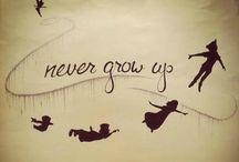 I don't wanna grow up~Neverland / by Haley Hembree