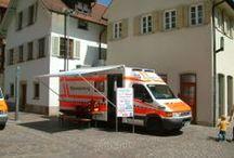 Emergency vehicle & boats - Rettungsfahrzeuge und -schiffe