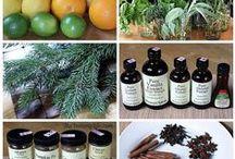 AROMATHERAPIE - AROMATHERAPY / Huiles essentielles - Essential oils