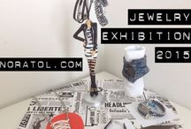 My jewelry / I started to create jewellery just for fun in 2013 and am currently selling them in my own webshop as well as displaying them in beauty salons and other exhibits.