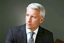 "Anderson Cooper Rocks! / ""In a perfect world, I don't think one's sexual orientations is anyone else's business, but I do think there is value in standing up being counted. -Anderson Cooper / by Brenda M"