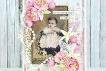 Vintage Baby - Stempelglede / Cards and projects from the DT -  Rubber stamps from the Stempelglede Vintage Baby collection.  http://www.stempelglede.com/stemplervintagebaby.html