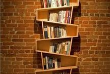 Unusual Bookshelves / There are so many great ways to display your books!