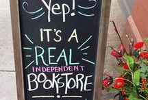 Bookstore Chalkboards / Wit and wisdom from Indie bookstores