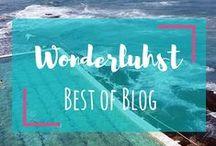 WONDERLUHST - BEST OF BLOG / Travel Blog, Wanderlust, Travel, Adventure Travel, Sustainable Travel,  Mindful Travel, Solo Travel, Solo Female Travel, Wonderluhst, Best of Travel Blog, Backpacker, Travel Tips