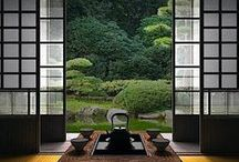 Japanese Architecture / This collection of Japanese architecture shows the cultural importance of being close to nature.