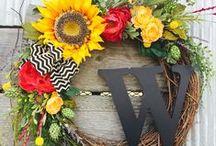Monograms & Wreaths