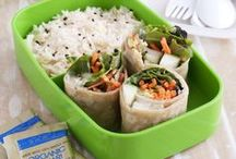 Bento / Bento boxes are fun for all ages! Great for packing lunch for school or work.