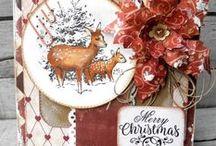 Christmas Rose - Stempelglede / Cards and projects from the DT - Rubber stamps from the Stempelglede 'Christmas Rose' collection. http://www.stempelglede.com/stemplerchristmasrose_en.html