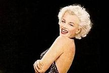 """Marilyn Monroe / """"Beneath the makeup and behind the smile I am just a girl who wishes for the world."""" --Marilyn Monroe   / by Carole Turansky"""