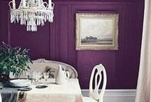 Pantone 2014 - Radiant Orchid / #WallDecor Recommendations for All Things #RadiantOrchid, the #Pantone2014 Color!