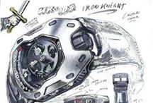 Sketches from Martin Frei