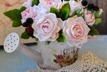 My handmade flowers