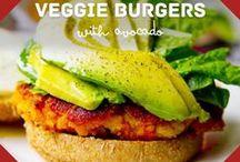 Veggie - Burgers / Recipes for Vegetarian & Vegan Burgers