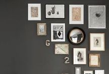 Black and White Wall Decor / by pictureframes.com