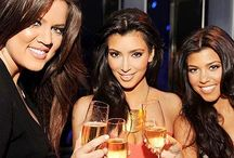 Kim k and sisters / by Darleen