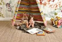 Kids Decorating Ideas ~ Bedroom & Playrooms / Inspiration for decorating your child's space. Get ideas for sprucing up your little one's bedroom or play area using vibrant colors, designs, tips and tricks, unique products, storage solutions, kids activities, toys and kid-friendly suggestions.
