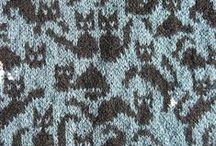 strikkemønstre og teknik