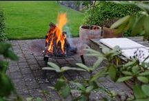 bålfade, bonfire / Bålfade fra zinkbakken.dk
