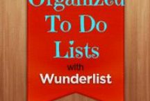 """Wunderlist (Produktivität) / Eine große Auswahl an Online-Tools findet ihr auf meiner Liste """"Produktivität - Tools"""" https://www.wunderlist.com/list/148892684"""