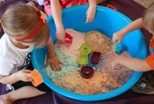 Sensory Play / Sensory activities let children use their senses as they explore the world around them through hands-on, interactive learning activities. Jumpstart your child's senses with our collection of sensory play ideas.