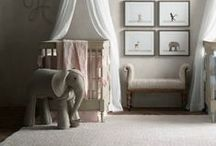 Baby Decorating Ideas ~ Nursery Design & Decor / Inspiration for decorating baby nurseries. Ideas for storage, DIY projects and more for boy and girl nurseries and playrooms.