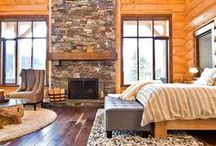 Cabins & Camping ~ Roughing It In Style / Outdoor theme ideas for cabins, camping, lake houses or vacation homes. Decorating, architecture and DIY ideas to inspire.