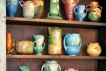 Roseville / Ever since my aunt selflessly gave me her only piece of Roseville, I have loved Roseville pottery ever since  / by Nick Mazzotti