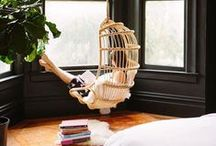 Reading Nook Decor ~ The Weekend Is Booked! / Fun places for reading books including window seats, home libraries, book nooks and more. DIY book storage ideas for bedrooms or classrooms.