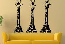 Wild Animal Decor Ideas ~ Show Your Untamed Side / Animal print and exotic decor. Rooms and spaces inspired by wildlife, tropical rain forests and the African Savannah.