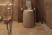 Bathroom Decorating ~ Wash Up Your Decor / Great ideas for organizing, storage solutions and decorating your bathroom. Inspiring spaces and DIYs to spark your imagination.