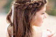 wedding hair / Hier findest du Ideen für deine Brautfrisur