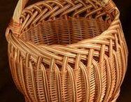 Wiklina papierowa / Wyroby wykonane z papierowych rurek.
