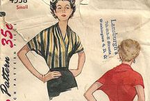 SEWING PATTERNS / by Tracy Schultz