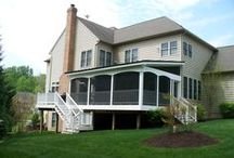 Screened In Porches / Want outdoor living that can be year round?  Check these out!